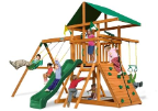 Gorilla Playsets Congo Outing III, Wooden Swing Set