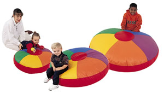 "52"" CUDDLE-UPS (GIANT COLORWHEEL FLOOR PILLOWS)  (SET OF 3)"