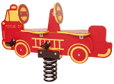 Firetruck Spring Rider - Double Seat