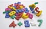 NUMBER BUILDING BLOCKS 64 PIECES