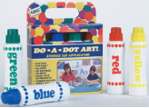 "Do - A- Dot Art DotArt Marker ( 4-Pk : Assortment Colors ) ""Rainbow"" [Washable]"