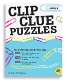 MINDWARE BRAIN TEASERS CLIP CLUE PUZZLES -- ( LEVEL A )