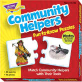 Fun-to-Know Puzzles - Community Helpers
