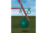 Gorilla Playset Accessory - Buoy Ball/Trapeze Bar w/Rings