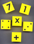 FOAM DICE 2 ( SET OF 6 )