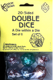 20 SIDED DOUBLE DICE