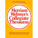 MERRIAM-WEBSTERS COLLEGIATE THESAURUS