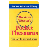 MERRIAM-WEBSTER'S POCKET THESAURUS