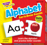 Fun-to-Know Puzzles - Alphabet