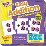 Fun-to-Know Puzzles - Easy Addition