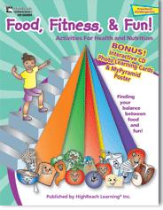 Food Fitness and Fun!  - CD ROM and Activity Book - (Grade PreK - Kindegarden)