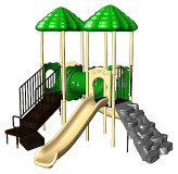 Uplay Today Playgrounds - UP & Over Double Deck Playsystem
