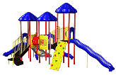 Uplay Today Playgrounds - UP & Away Triple Deck Playsystems