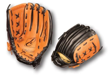 "12"" Leather/Synthetic Glove - Right Handed"
