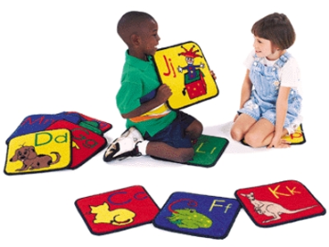 Abc Phonic Squares  ( Set Of 26 )