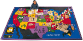 Educational Carpets - America / World / Outer-Space
