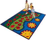 Educational Carpets - Numbers and Counting.