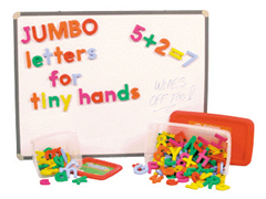 Jumbo Magnetic Letters And Numbers