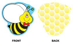 Bees Mini Cutouts