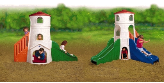 Commercial Toddler Play Structures