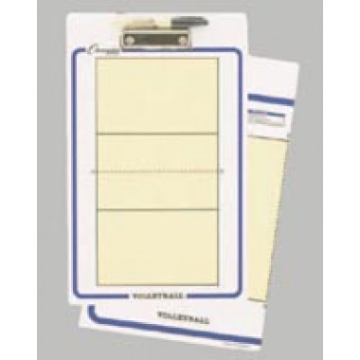 Coaches' Board Clipboard - Volleyball