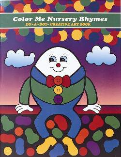 COLOR ME NURSERY RHYMES ACTIVITY BOOK