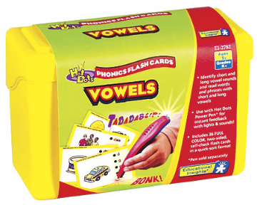 Hot Dots Phonics Program Set 3: Vowels