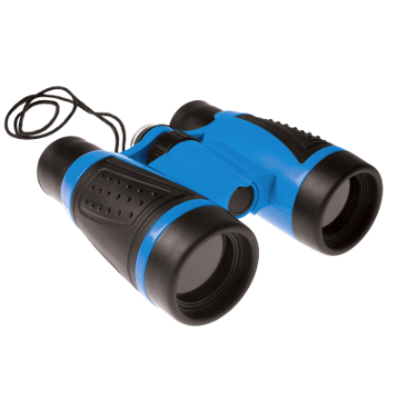 Binoculars With Compass - Geosafari