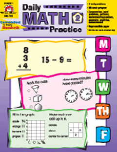 DAILY MATH PRACTICE ( GRADE 2 )