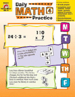 DAILY MATH PRACTICE ( GRADE 4 )