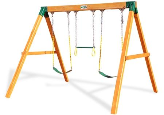 Gorilla Playsets Congo Free Standing Wooden Swing Set
