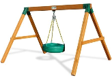Gorilla Playsets Congo Free Standing Tire Swing
