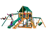 Gorilla Playset Frontier with Sunbrella Roof - Green