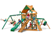Gorilla Playset Frontier with Wood Roof