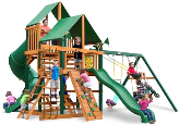 Gorilla Playsets Great Skye I with Vinyl Canopy - Green