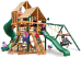 Gorilla Playsets Great Skye I with Sunbrella Canopy - Weston Ginger