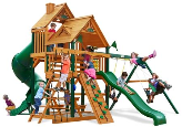 Gorilla Playsets Great Skye I with Wood Roof
