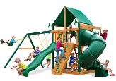 Gorilla Playsets Mountaineer with Vinyl Canopy
