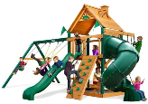 Gorilla Playsets Mountaineer with Wood Roof