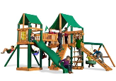 Gorilla Playset Pioneer Peak with Vinyl Canopy - Green