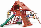 Gorilla Playset Sun Palace I with Wood Roof