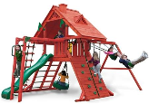 Gorilla Playset Sun Palace II with Wood Roof