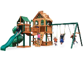 Gorilla Playsets WoodBridge Wooden Swing Set
