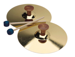 "5"" Cymbals W/Mallet (1 Pair)"