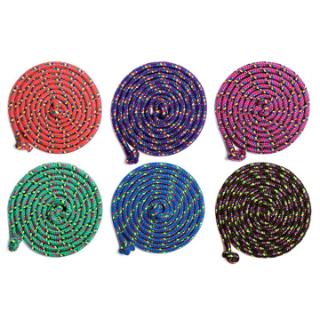 Confetti Jump Rope - Cotton ( 8 Feet )