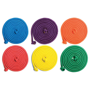 Rainbow Jump Rope - Cotton ( 8 Feet )