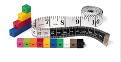 ENGLISH/METRIC TAPE MEASURES ( 10/PK )