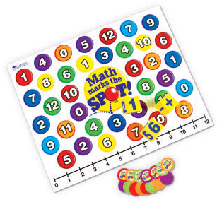 Math Marks The Spot - A Math Activity Game