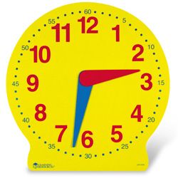 13 MAGNETIC BIG TIME LEARNING CLOCK