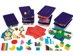 HANDS ON MANIPULATIVES KIT ( GRADES 3 - 4 ) (SKU: LER0862)